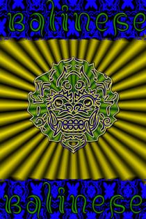 Tribal mask 2 cv