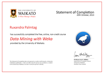 Cert data mining with weka cv