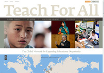 Teach for all home page cv