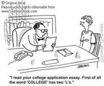College app pic cv