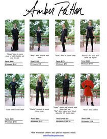 Fall winter 2013 line sheets for nordstrom cv