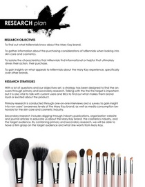 Researchplan cv