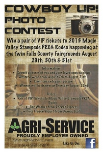 Cowboy up photo contest cv