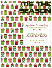 Christmas party flyer 2013 cv