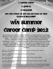 Career camp cv