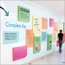 Campaign wall cover cv