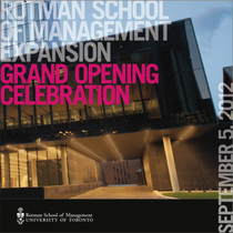 Building opening booklet cover cv