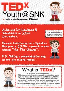 Tedxyouth snk poster cv