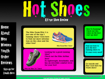 Hot shoes cv