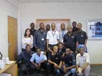 Botswana training 2 cv
