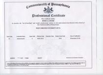 Certificate   copy cv