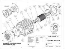 Motor sheet cv