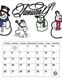 Langill calendar cv