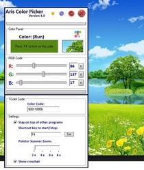 Color picker cv