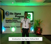 Six sigma yellow belt cv