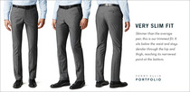 Dress pants detail vslim banner cv