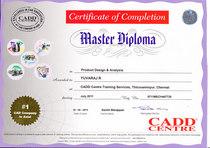 Cad certificate 0001 cv