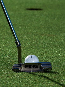 Golf putting tips image cv