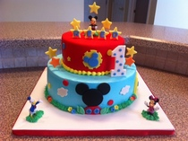 Mickey s playhouse birthday cake cv