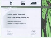 Certificado ccna cv