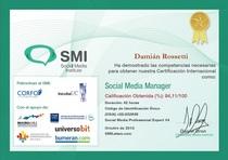 Social media manager cv