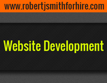 Website development cv