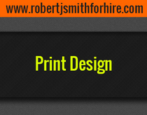 Print design cv