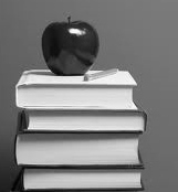 Books and apple cv