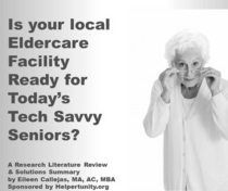 Presentation of social meida access in elder care facilities cv