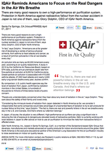 Iqair reminds americans cv