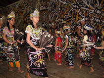 Dayak ceremony public 1  cv