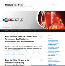Measure true color cv
