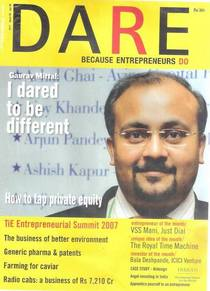Gauravv mittal   dare magazine   business enterprenuer cv