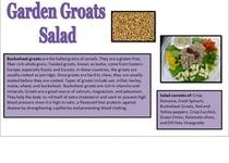 Garden groats cv