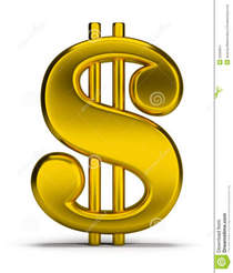Gold dollar sign 23566871 cv