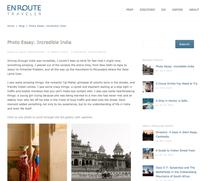 India photo essay cv