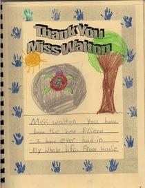 Student thank you cv
