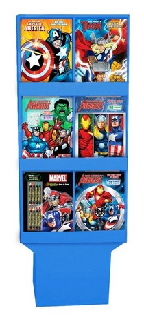 Avengers 6 pocket display cv