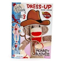 Sock monkey activity book cracker barrel cv