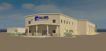 Building a allied pleasanton  tx office and warehouse.rvt 2013 oct 11 03 37 42pm 000 cover sheet rendering cv