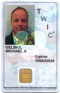 Twic card cv