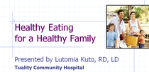 Healthy eating healthy families2 cv