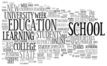 Tag cloud education cv