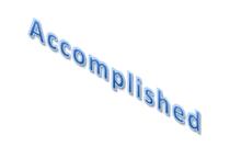 Accomplished cv