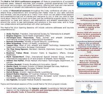 Med e tel 2014 educational program cv
