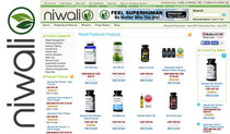 Nsf certified products soon available in the niwali test o boost health store cv