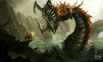 Sea monster by ryomaninja d4xl51f cv