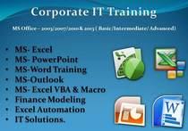 Corporate it training cv