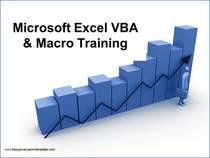 Excel vba training cv