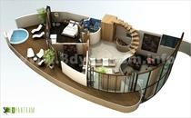 3d floor plan cv